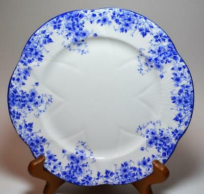 "SHELLEY Bone China England DAINTY BLUE #051/28  8""d Salad Plate"