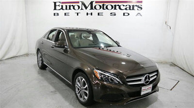 Mercedes-Benz C-Class C 300 4MATIC Sedan mercedes benz c300 c 300 4matic awd brown demo 17 18 used navigation blind spot