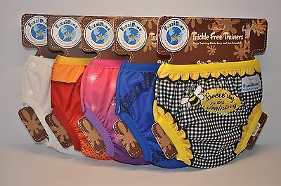 FuzziBunz Trickle Free Trainers Reusable Washable Training Pants Small 5 Styles