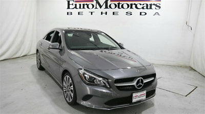 Mercedes-Benz CLA CLA 250 4MATIC Coupe mercedes benz cla250 cla 4matic awd gray 17 18 used navigation blind spot coupe