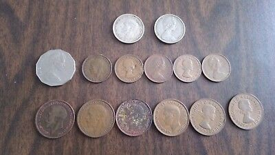 British and Australian Coins