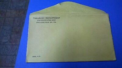 1963 United States Proof Set In ORIGINAL MINT ENVELOPE     FREE SHIPPING