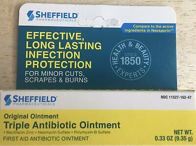 TRIPLE ANTIBIOTIC OINTMENT Generic Neosporin First Aid 0 33