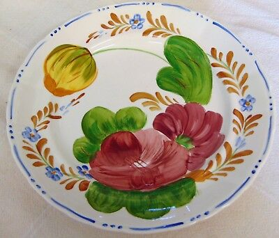 Simpsons Chanticleer Ware Hand Painted, Pattern #521, Belle Fiori