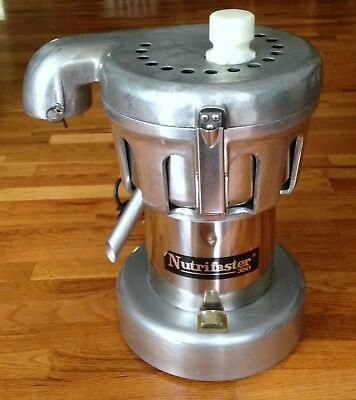 Nutrifaster 350 Multi Purpose Juicer Heavy Duty Commercial Stainless Steel