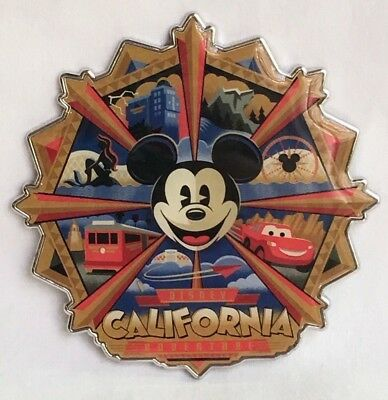 Disney Parks Disney California Adventure Mickey Fun Wheel Attractions Magnet NEW