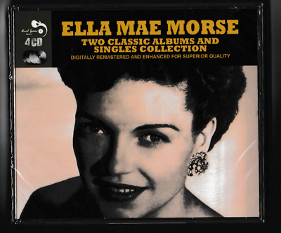 Ella Mae Morse~Two Classic Albums And Singles Collection~ 4CD-BOX SET NEW/SS