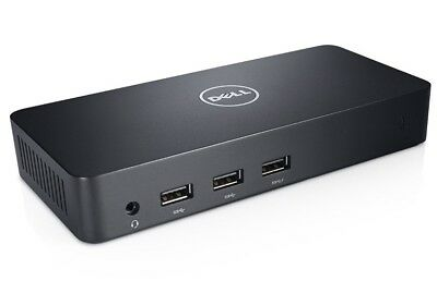 Dell D3100 USB3 4K Triple Video Docking Station - Add extra HDMI ports to laptop