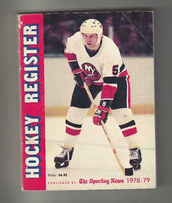 1978-79 The Sporting News The Hockey Register Yearbook