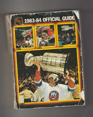 1983-84 The National Hockey League NHL Official Guide