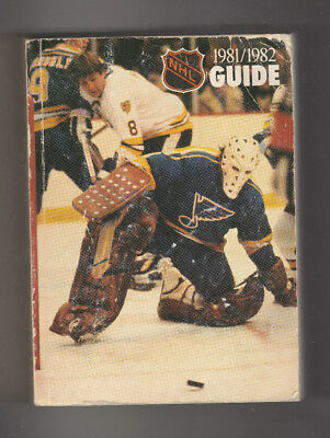 1981-82 The National Hockey League NHL Official Guide