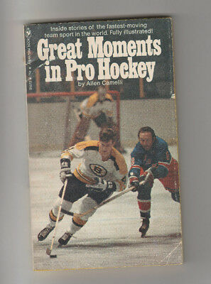 Great Moments in Pro Hockey by Allen Camelli 1971 Bobby Orr