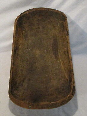 Antique Wooden Bowl Antique Trench Bowl Handcarved Bowl
