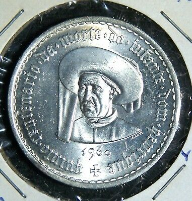 Portugal - 1960 - 5, 10 & 20 Escudos - 3 Extremely Rare Coins in Top Condition!