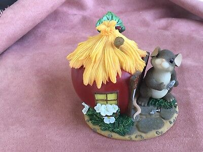 """Charming Tails Figurine """"Home Is Where The Heart Is"""" 89/126 **EXCELLENT COND.***"""