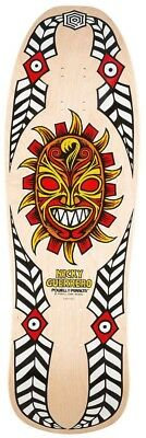 Powell Peralta Skateboard Deck - Nicky Guerrero Mask Reissue Clear Stain