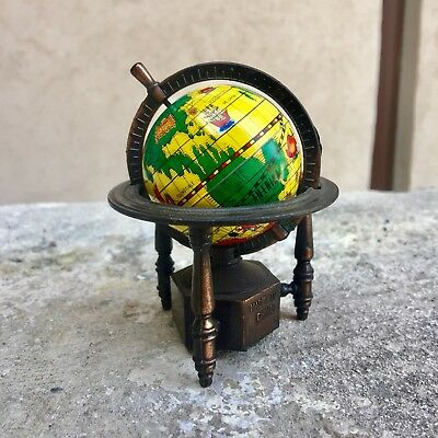 Mappamondo Temperamatite Vintage Die Cast Globe Pencil Sharpener