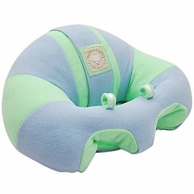 Hugaboo Infant Sitting Chair, Snuggle Buns/Blue/Green, 3 11 Months