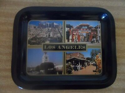 Vintage Drink Tray Los Angeles- Mini Size