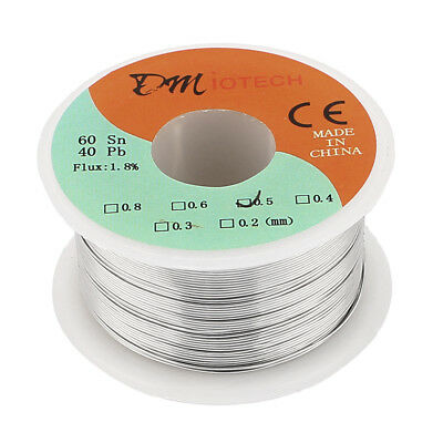 0.5mm 100G 60/40 Rosin Core Tin Lead Roll Soldering Solder Wire