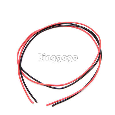 Red Black  16 AWG Gauge Wire Flexible Silicone Stranded Copper Cables For RC