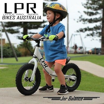 "Balance Bike, Australian Designed, 12"" pump up tyres!"