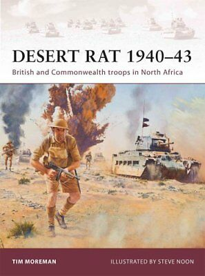 Desert Rat 1940-43 British and Commonwealth troops in North Africa 9781849085014