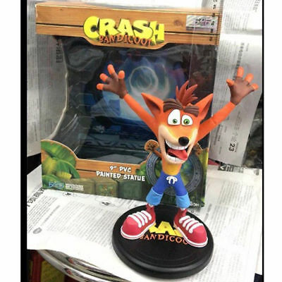 "Crash Bandicoot 4 Game 9"" Wolf PVC Painted Statue Action Figure Collection Toy"