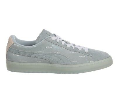 on sale 0c326 e9be6 PUMA SUEDE CLASSIC V2 Pink Dolphin Mens 365031-02 Ether ...