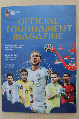 2018 Fifa World Cup Finals (Russia) Official Tournament Magazine