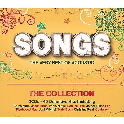 Songs(The Very Best Of Acoustic)The Collection 2 Cd New+  Bruno Mars/james Blunt