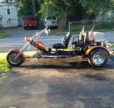 2011 Custom Built Motorcycles Other  Red and Black VW Custom Built Trike