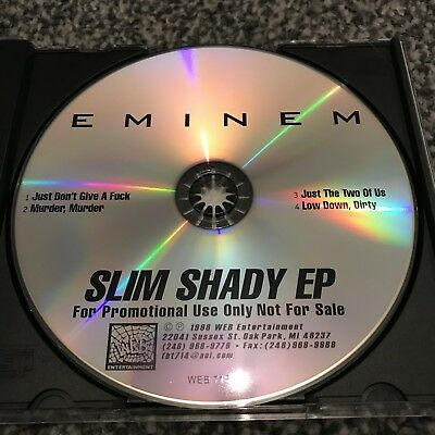 Eminem Slim Shady EP Demo Collectors Issue CD 1997 1998 2018 Infinite Rare