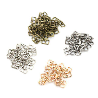 10PCS 4.5MM Mini Japanese Word Buckles For Bjd Blyth Doll Shoes Clothes AcceESCA