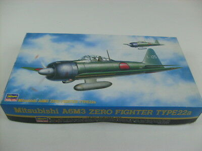 Hasegawa Mitsubishi A6M3 Zero Fighter Type 22a Japanese Navy Fighter 1:48 09170