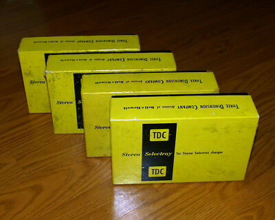4 B&h Stereo Selectrays In Original Boxes - Nice!