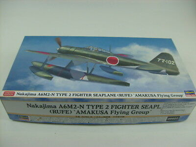 Hasegawa 1:48 Limited Edition Nakajima A6M2-N Type 2 Fighter Seaplane Rufe 09922