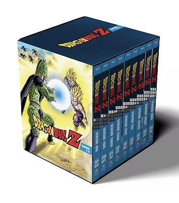 Dragon Ball Z Complete Series Season 1-9 Collection Blu-ray Box Set Authentic