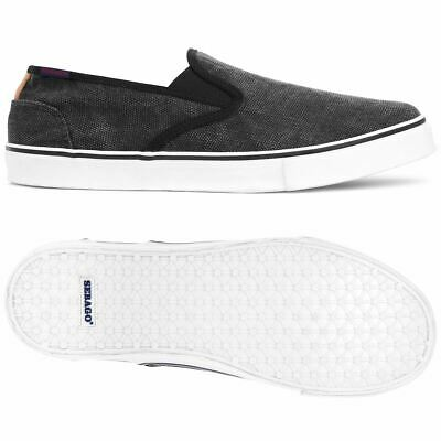 Sebago Shoes Sneakers Man NOLAN TWIN GORE CANVAS Leisure Slip On
