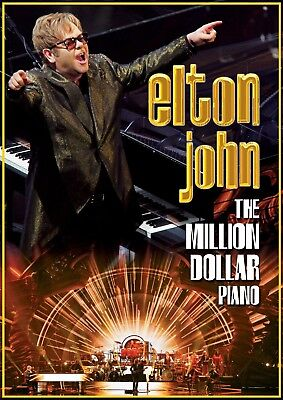Elton John - The Million Dollar Piano  Dvd New+
