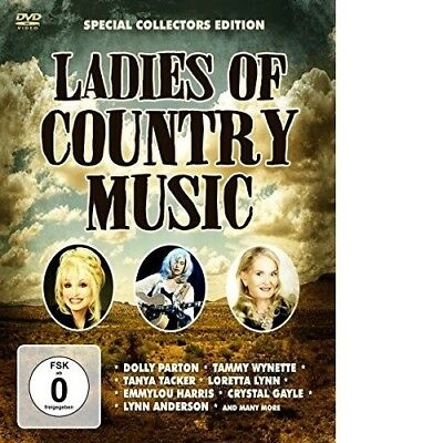 Ladies Of Country Music - Dolly Parton/Tammy Wynette/Tanya Tacker/+  Dvd New+