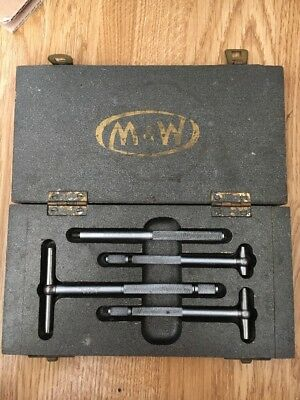 Moore & Wright Set of Telescopic Bore Gauges