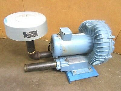 "Ametek Dr65K72X 511306 2"" In X 2""out 1.75 Hp Vacuum Blower 208-230/460V 3Ph"