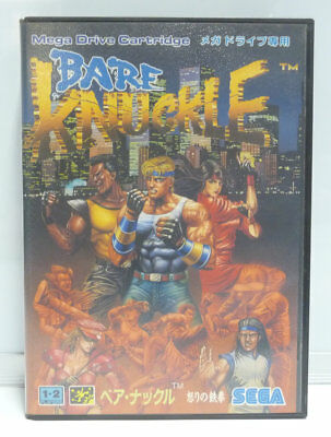 Bare Knuckle - Street Of Rage - Sega Mega Drive Boxed Ntsc Japan