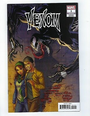 Venom # 1 J Scott Campbell 1:50 Variant NM Donny Cates & Ryan Stegman Marvel