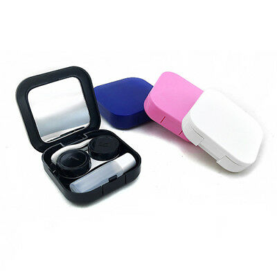 Popular Contact Lens Case Container Travel Kit Set Storage Holder Mirror Box CN