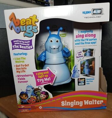 Beat Bugs Singing Walter Action Figure Toy