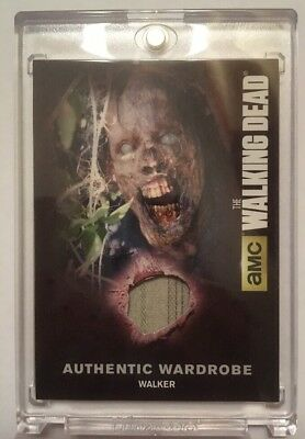 M37 Walker Card Authentic Wardrobe Card The Walking Dead Season 4 Part 2