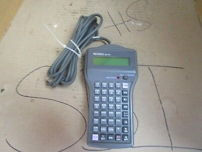Keyence Hand Held Teaching Teach Programmable Controller Pendant KZ-P3 Used