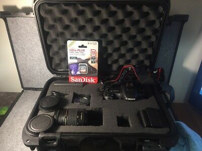 Canon EOS 7D Mark II w/Carrying Case and Accessories - DS126461